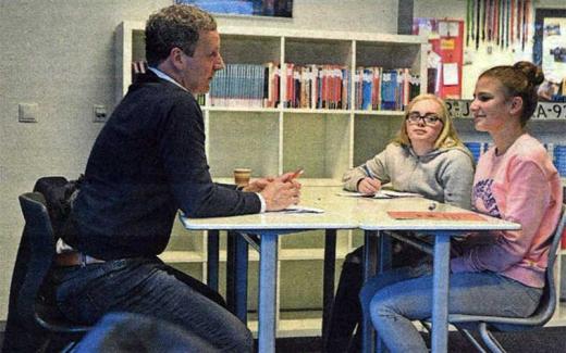 Revius solliciteert in speeddate bij Wijks bedrijfsleven