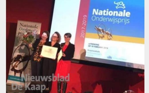 Villa Revius wint Onderwijsprijs